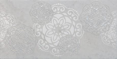 30 Dekoor Hera Flor grey 25x50 - Hansas Plaadimaailm