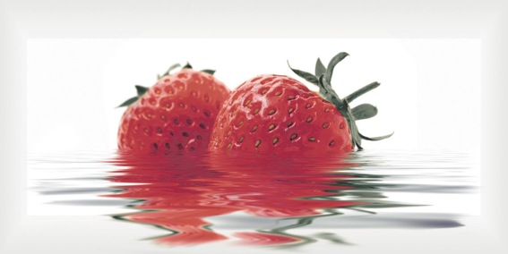 25 Dekoor Fresa maasikas 10x30 - Hansas Plaadimaailm