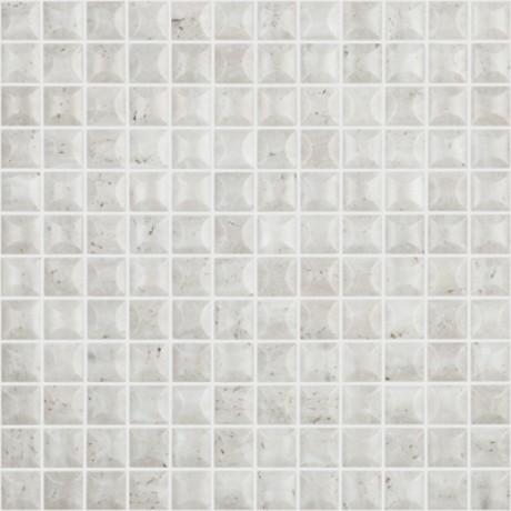 Mo Edna Travertino Bone 2,5x2,5 - Hansas Plaadimaailm