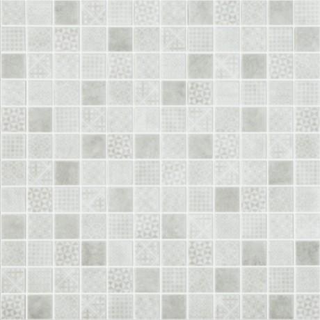 Mosaiik Born Grey 25x25x4,5mm (315x315mm) - Hansas Plaadimaailm