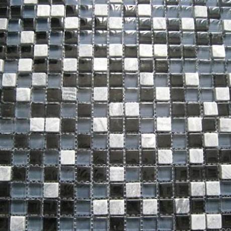 Mo 42 Mosaiik grau/grau 1,5x1,5 - Hansas Plaadimaailm