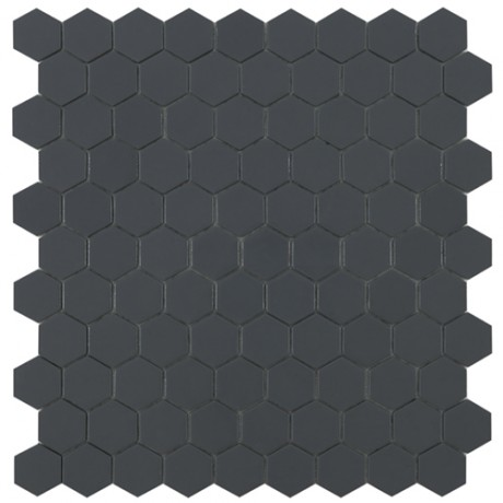 Mo Basic Matt Dark Grey 908 Hex 3,5x3,5 - Hansas Plaadimaailm