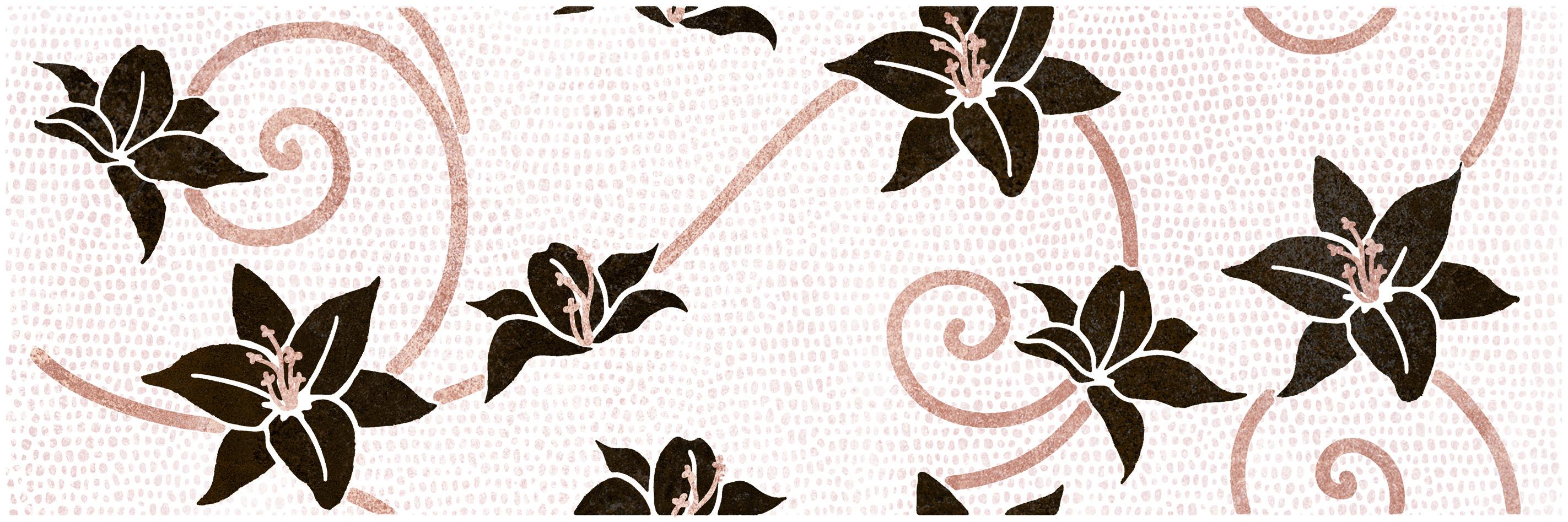 02a Dekoor Croco Flor crema 20x60 - Hansas Plaadimaailm