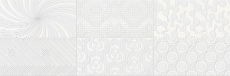 Decor Camaleonte mix blanco 20x60 - Hansas Plaadimaailm