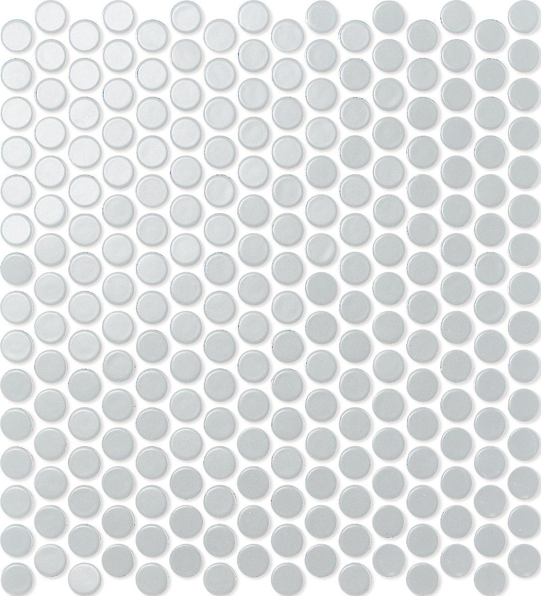 PENNY ROUND WHITE MATT HL0101 R10 19mm - Hansas Plaadimaailm