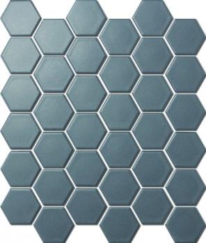 HEXAGON D.GREY MATT HC02069 R10 51x59mm - Hansas Plaadimaailm