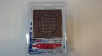 Trapp DENIZ 10x10cm plastik ABS, Bronze/läikiv pronks - Hansas Plaadimaailm