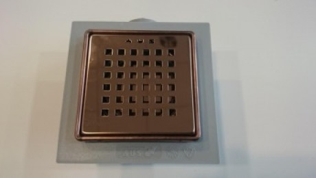Trapp GÖZDE PLUS metall 10x10cm läikiv pronks - Hansas Plaadimaailm