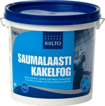 Kiilto vuugitäidis 11 nat.valge 3kg - Hansas Plaadimaailm