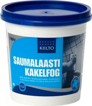 Kiilto vuugitäidis 48 söehall 1kg - Hansas Plaadimaailm