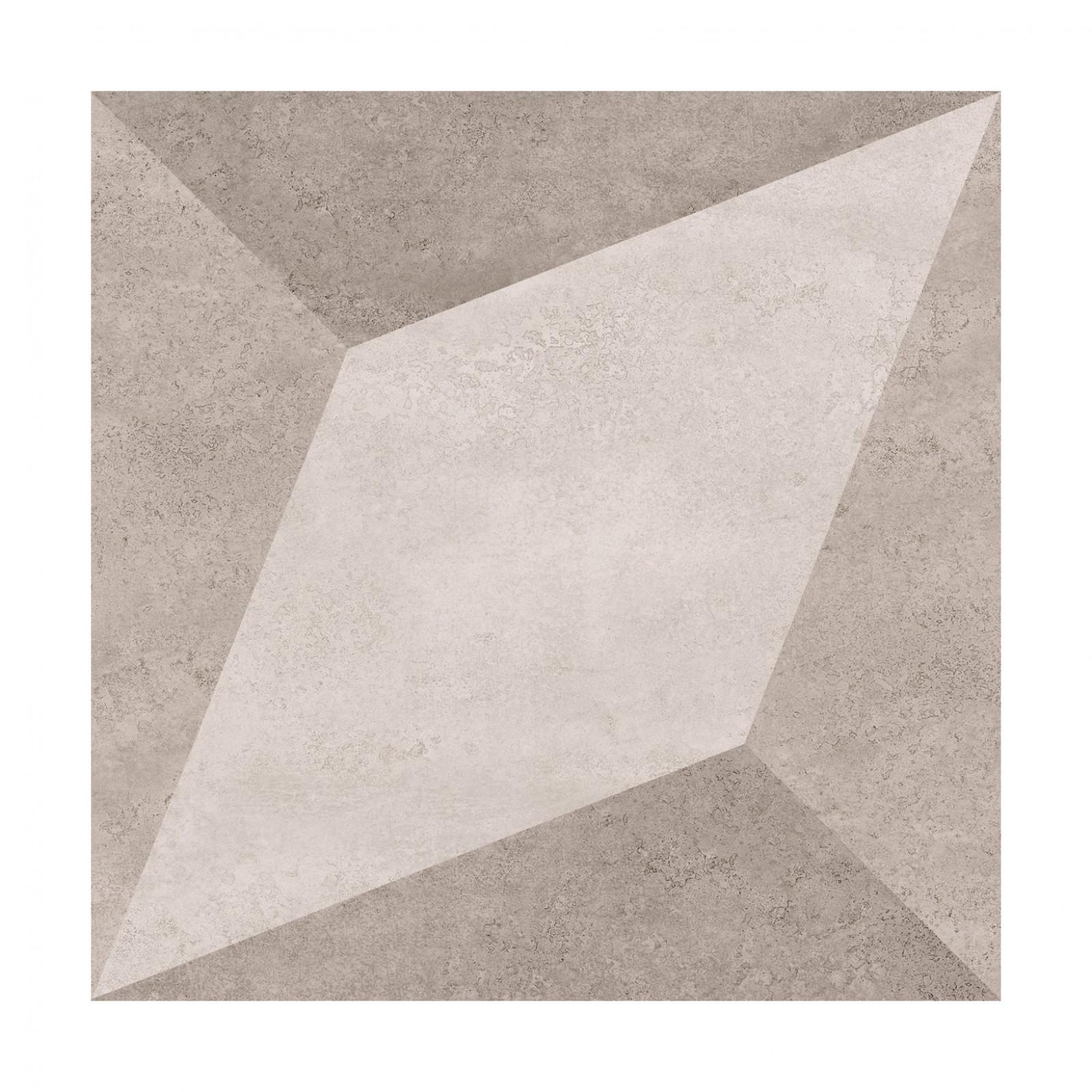 Henry beige feature BCT49340 33,1x33,1 I sort - Hansas Plaadimaailm