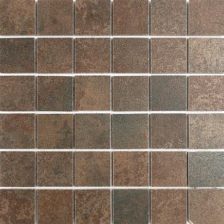 Mosaiik Metallique cobre mat malla lappato 30X30 (5x5) - Hansas Plaadimaailm