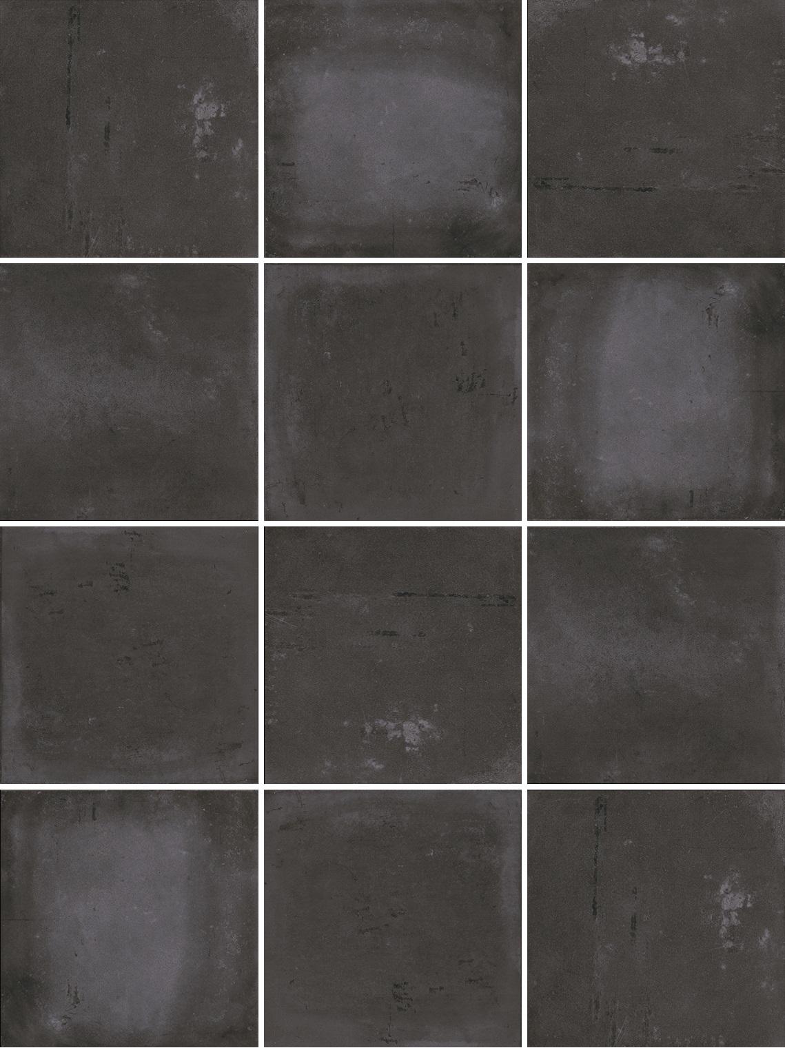 Mosaiik Factory anthracite 9,7x9,7x0,75 - Hansas Plaadimaailm