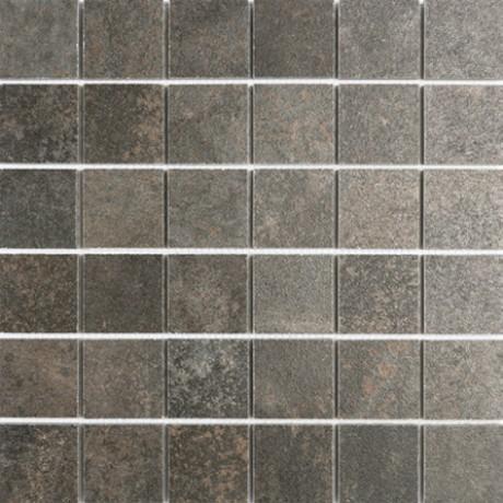 Mosaiik Metallique iron lappato malla 30X30 (5x5) - Hansas Plaadimaailm