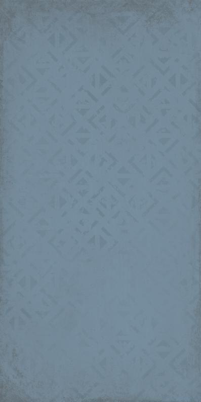 Kate dekor Y59516001 blau matt 20x40x0,7 I sort - Hansas Plaadimaailm