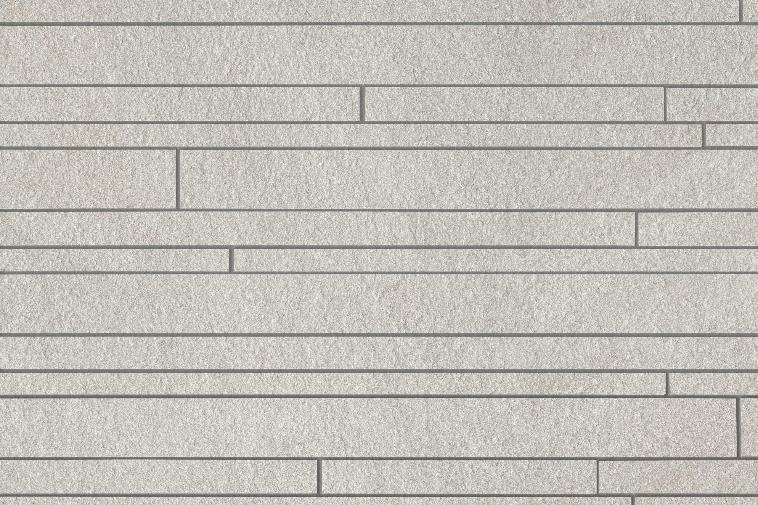 Mosaiik Brick Quarzite ice 17670 R10/B rect. 30x60x0,95 I sort - Hansas Plaadimaailm