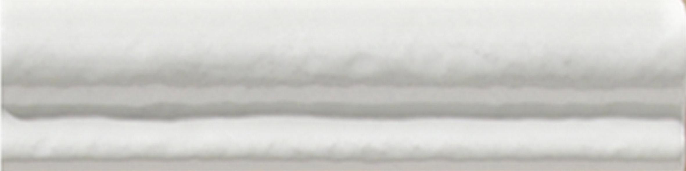Porte Moldura Patine blanco brillo 4x15 - Hansas Plaadimaailm